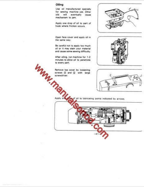 White 1919 Sewing Machine Instruction Manual