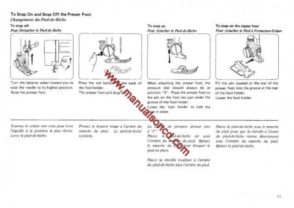Janome MS3015 - MS3023 Sewing Machine Instruction Manual
